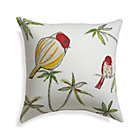 "Chubby Birds 20"" Sq. Outdoor Pillow."