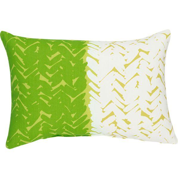 """Cypress 20""""x13"""" Outdoor Pillow"""