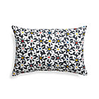 "Floral Tiles 20""x13"" Outdoor Pillow."