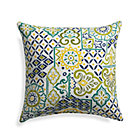 "Global Tiles 20"" Sq. Outdoor Pillow."
