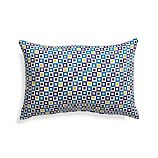 "Graphic Geo Tiles Turkish Tile 20""x13"" Outdoor Pillow"