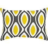 La Mer Dark 20&quot;x13&quot; Outdoor Pillow