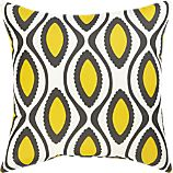 "La Mer White 20"" Sq. Outdoor Pillow"