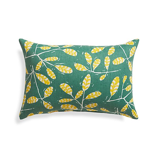 "Modern Botanicals 20""x13"" Outdoor Pillow"