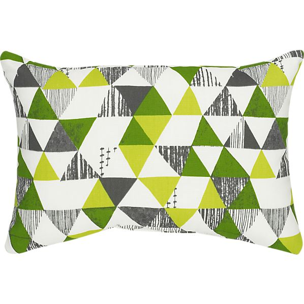 "Zane 20""x13"" Outdoor Pillow"