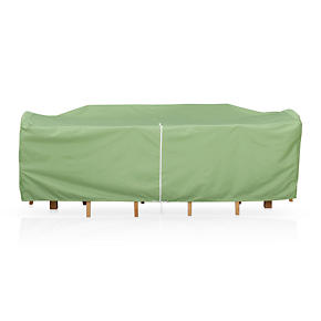 Small Rectangular Table/Chairs Cover with Umbrella Option