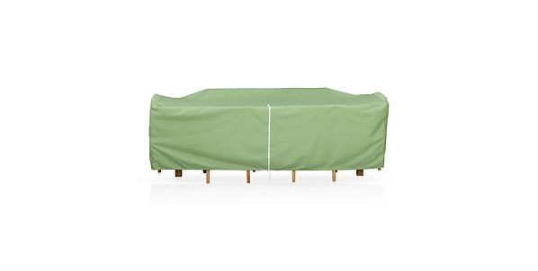 Large Rectangular Table/Chairs Cover with Umbrella Option | Crate ...