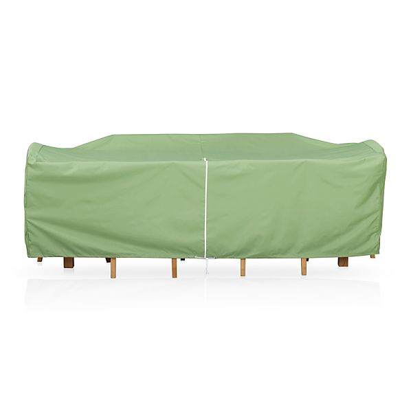 Small Rectangular Table/Chairs Outdoor Furniture Cover with Umbrella Option