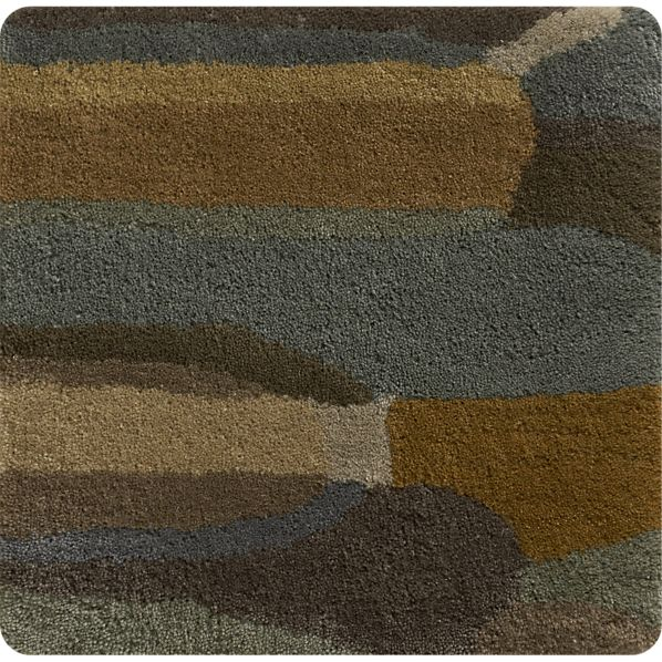 "Overlap 12"" sq. Rug Swatch"