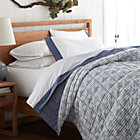Oxford Blue Twin Quilt.