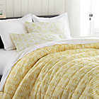 Oxford Yellow Twin Quilt.