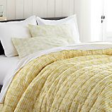 Oxford Yellow Twin Quilt