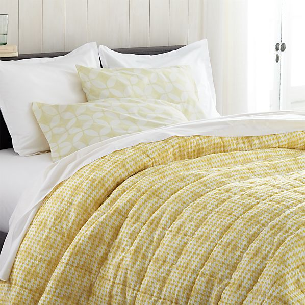 Oxford Yellow Full/Queen Quilt