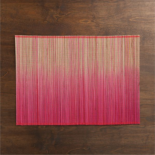 Oxley Pink Placemat