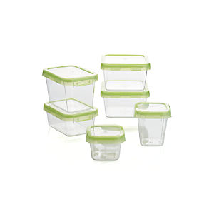 OXO ® Green 12-Piece Locktop Set