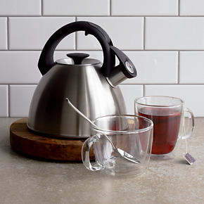 OXO® Click Click Brushed Stainless Teakettle