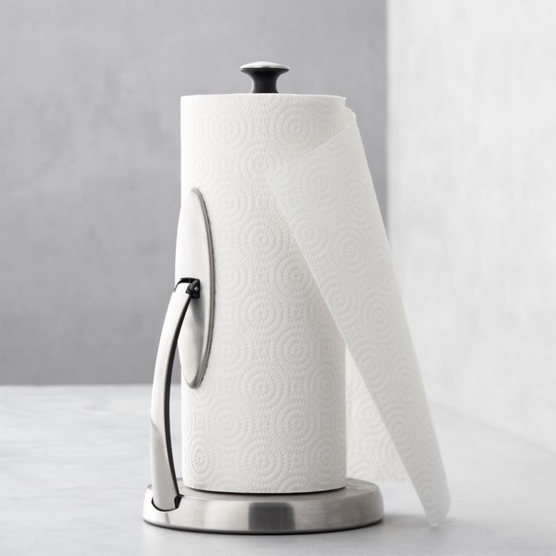OXO ® Spring Arm Paper Towel Holder