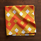 Palace Orange Napkin.
