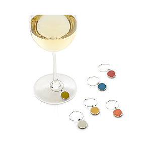 Palette Wine Charms Set of Six
