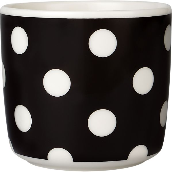 Marimekko Pallo Black and White Cup