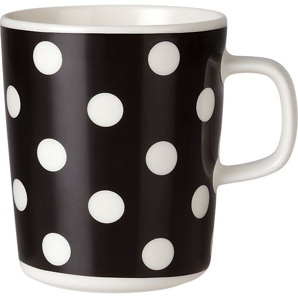 Marimekko Pallo Black and White Mug