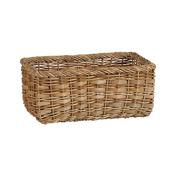 Palma Small Low Basket