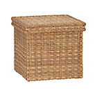 Palma Small Square Lidded Basket.