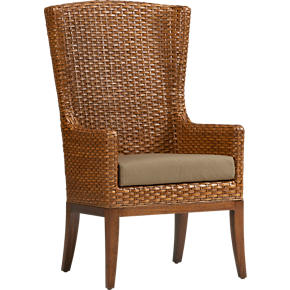 Palmetto Arm Chair with Cushion