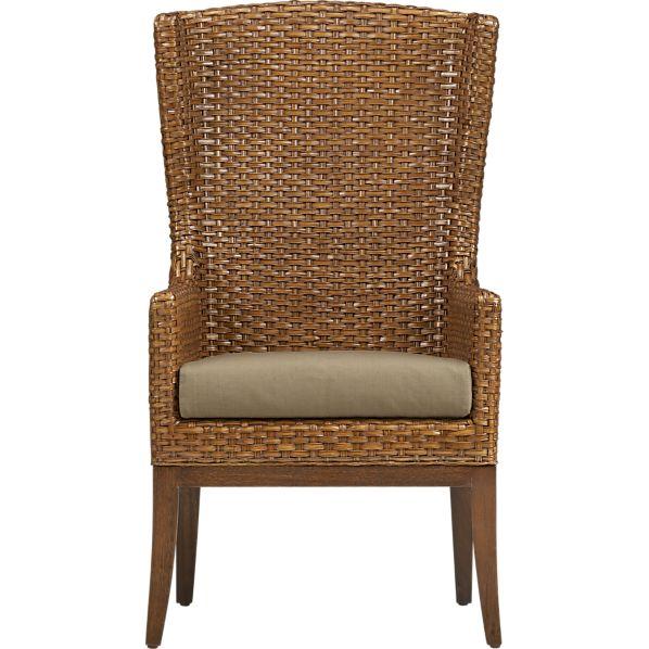 Palmetto Chair with Khaki Cushion