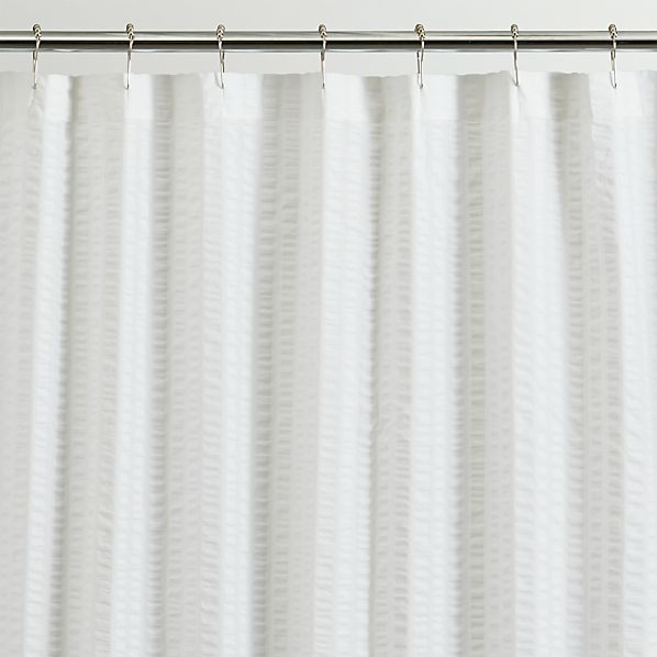 palmetto shower curtain crate and barrel. Black Bedroom Furniture Sets. Home Design Ideas