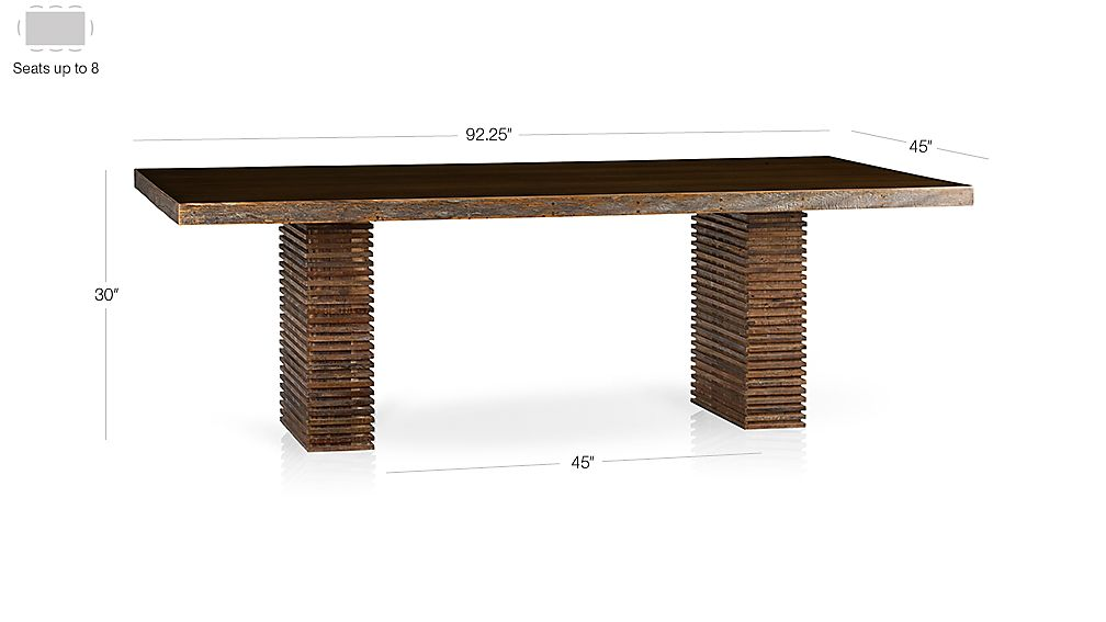 Paloma I Dining Table Dimensions