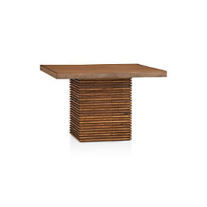 Paloma II Reclaimed Wood Square Dining Table