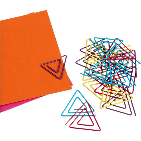 Set of 20 Triangle Paper Clips