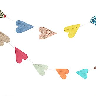 Paper Hearts Garland