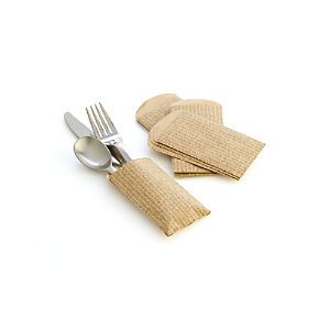 Paper Utensil Bags Set of 12