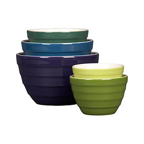 5-Piece Parker 5.5-9.5 Nesting Bowl Set