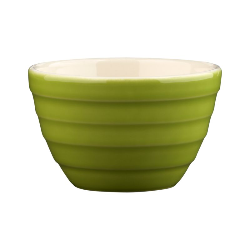 "Our popular ""stepped"" Parker bowl goes mini for kitchen prep, doling out snacks or dishing up ice cream, berries, pudding and more.<br /><br /><NEWTAG/><ul><li>High-fired earthenware</li><li>Dishwasher- and microwave-safe on low settings</li></ul>"