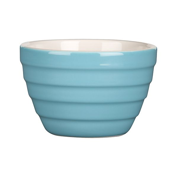 "Parker Light Blue 4.75"" Mini Bowl"
