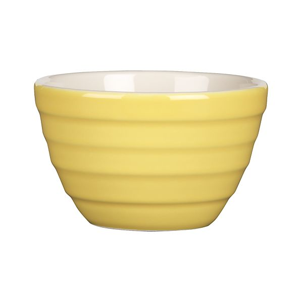 "Parker Yellow 4.75"" Mini Bowl"