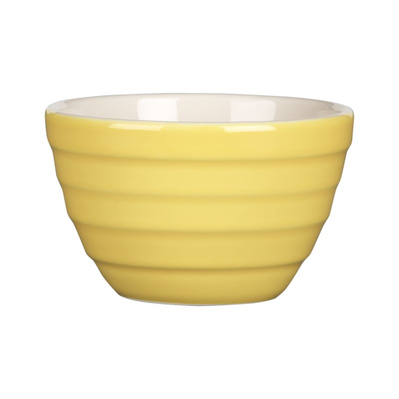 "Our popular ""stepped"" Parker bowl goes mini for kitchen prep, doling out snacks or dishing up ice cream, berries, pudding and more.<br /><br /><NEWTAG/><ul><li>High-fired earthenware</li><li>Dishwasher- and microwave-safe on low settings</li><li>Made in Portugal</li></ul>"