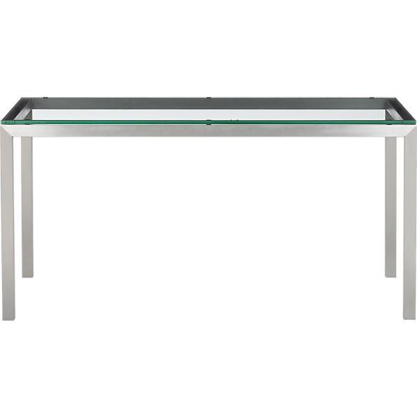 Page Not Found Crate and Barrel : parsons glass top 60x36 dining table with stainless steel base from www.crateandbarrel.com size 598 x 598 jpeg 10kB