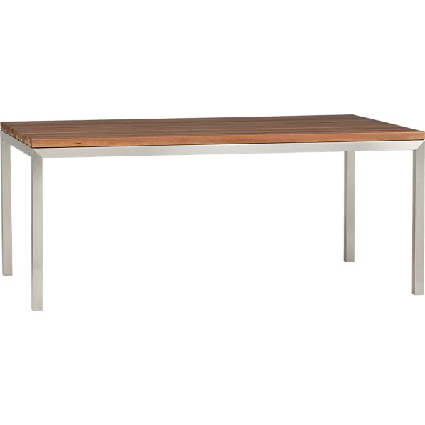 Dining table stainless dining table top - Stainless kitchen tables ...