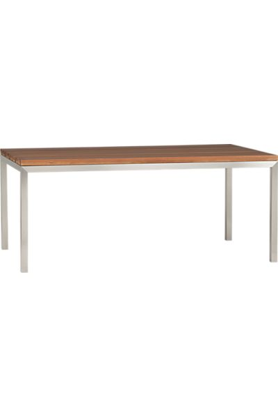 Crate And Barrel Concrete Dining Table