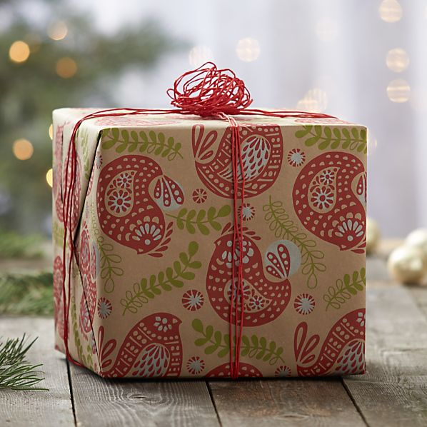 Partridge Gift Wrap
