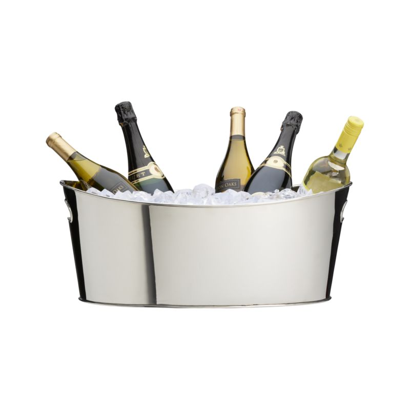 Oval Party Beverage Tub Crate And Barrel