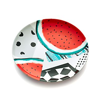 "Party Collage 9"" Melamine Plate"