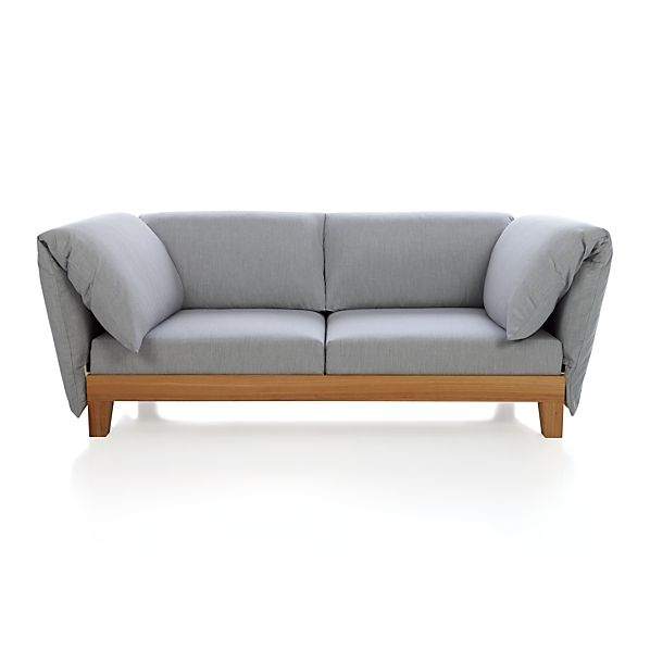 Party Double Arm Cushion Loveseat