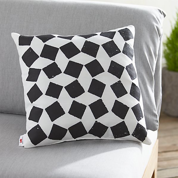 "Party Zellij 20"" sq. Outdoor Pillow"