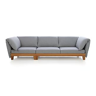 Party Sofa with Cushion Arms