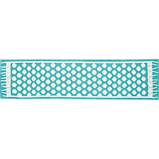 Party Turquoise Indoor-Outdoor 2'x8' Runner